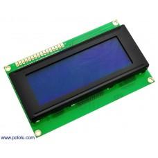 LCD-display 20x4 wit/blauw