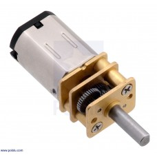 Micro Metal Gearmotor 100:1 MP