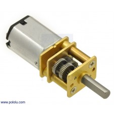 Micro Metal Gearmotor 1000:1 MP