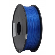 PLA 3mm transparant blauw