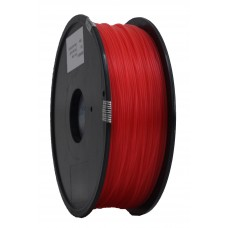 PLA 3mm transparant watermeloen rood